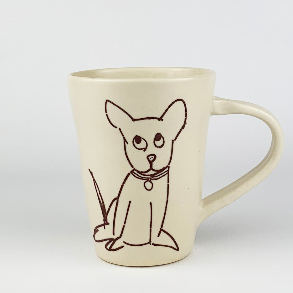 Mug - Illustrated Dog Design