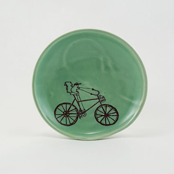 Ring Dish | Squirrel Riding a Bike | Bella Joy Pottery