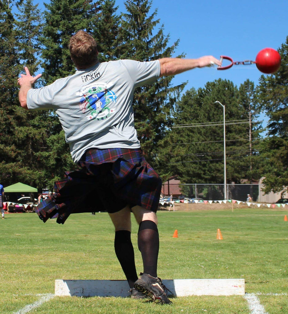 Highland Games Basics: The One Turn