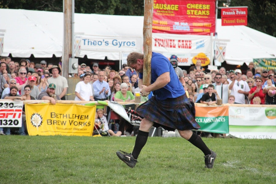 Highland Games Basics: Caber Carry