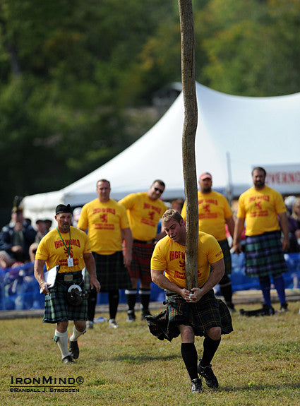 Why your caber toss set up hinders your ability to turn big sticks
