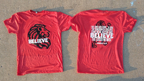 Rampant Lion BELIEVE Shirt