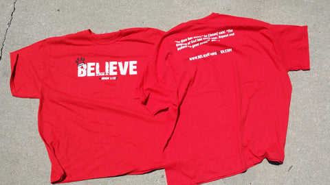 BELIEVE Crown Shirt