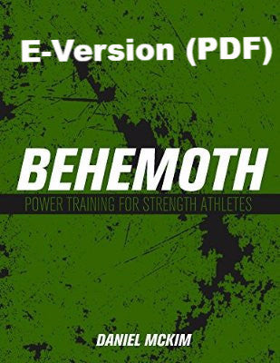 E-Version of BEHEMOTH