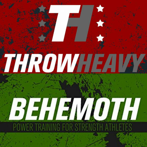Bundle - THROWHEAVY & BEHEMOTH (paperback, free shipping)