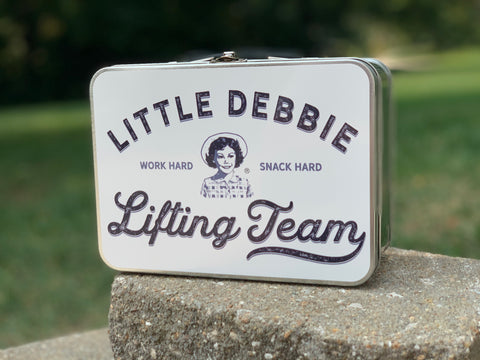 Little Debbie Lifting Team Lunchbox - Limited Edition