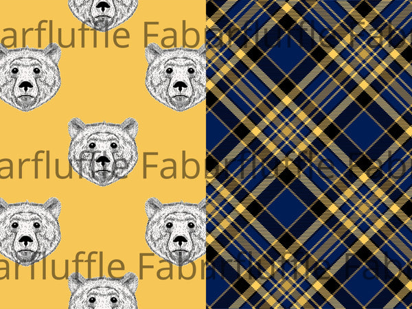 Bears & Plaid- REPRINT