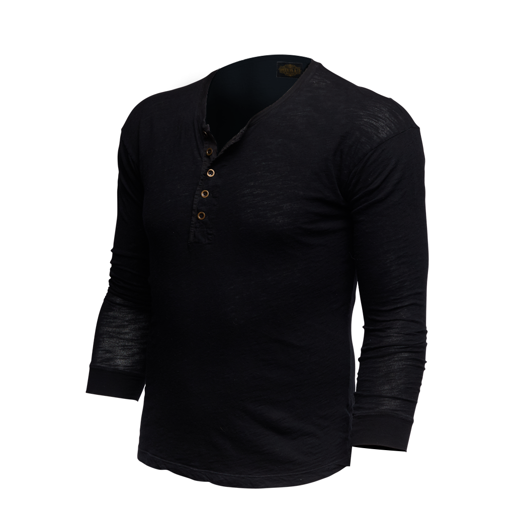 Men's Vintage Revival Long Sleeve Henley Shirt
