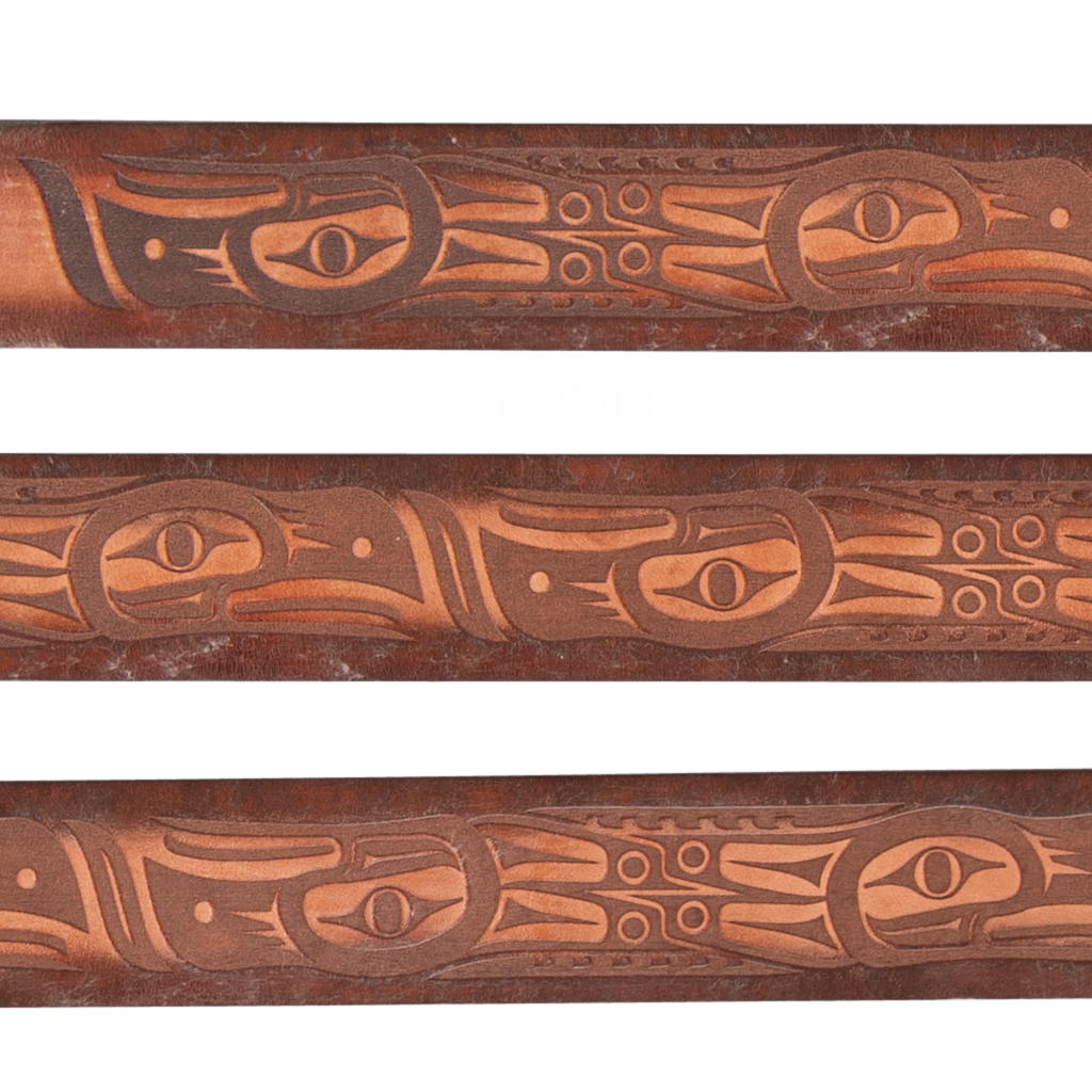 Totem Leather Belt