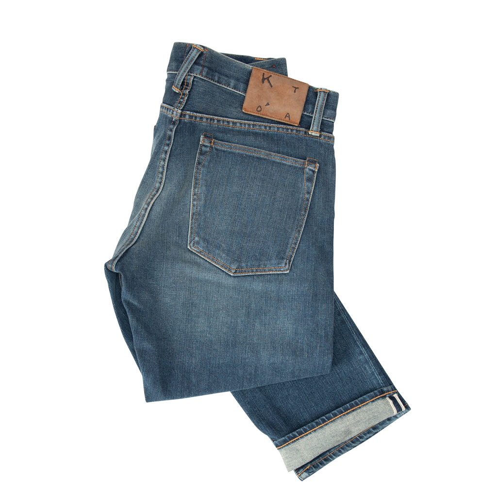"KATO by Hiroshi Kato""The Pen"" Slim 10.5oz 4-Way Stretch Selvedge-4-WAY"