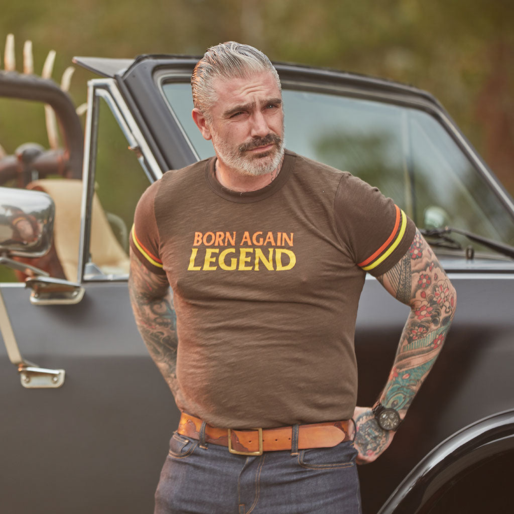 Born Again Legend Statement Tee