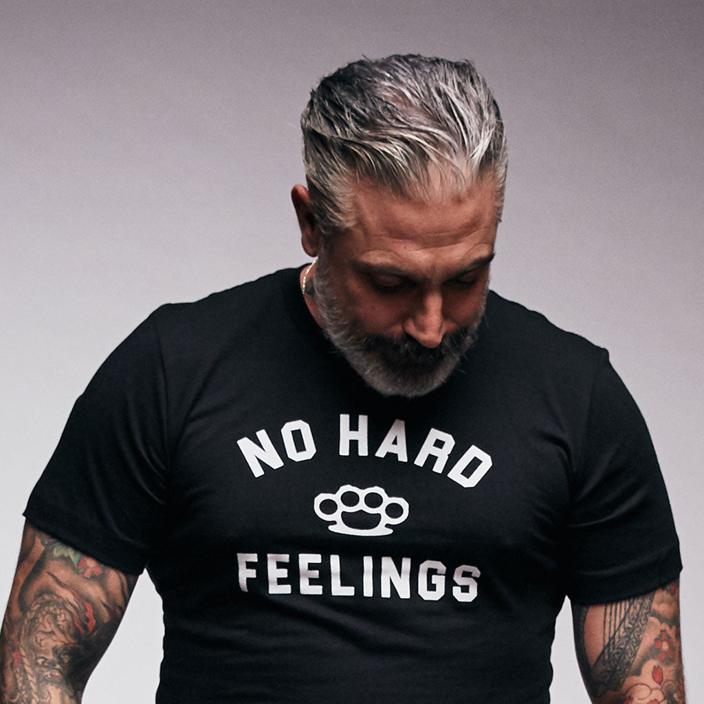 No Hard Feelings Statement Tee