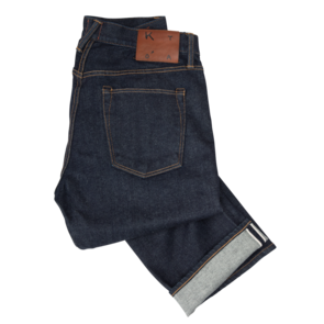 "KATO by Hiroshi Kato ""The Hammer Straight"" 10.5oz 4-way Stretch, Selvedge-4-way"