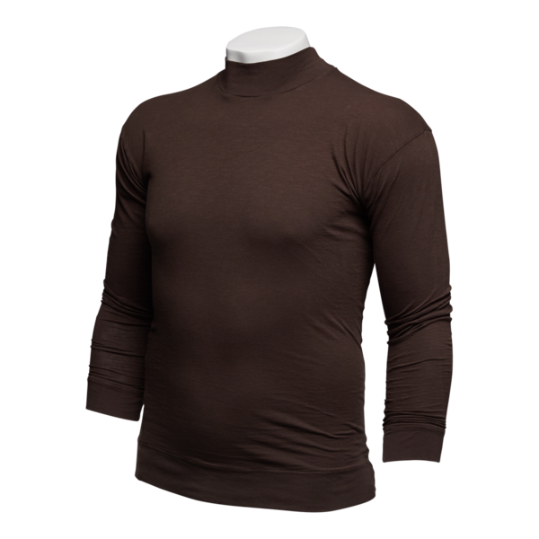 Signature Sleeve Basic Long Sleeve Turtleneck