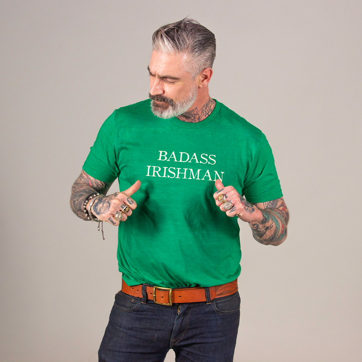 Badass Irishman Statement Tee