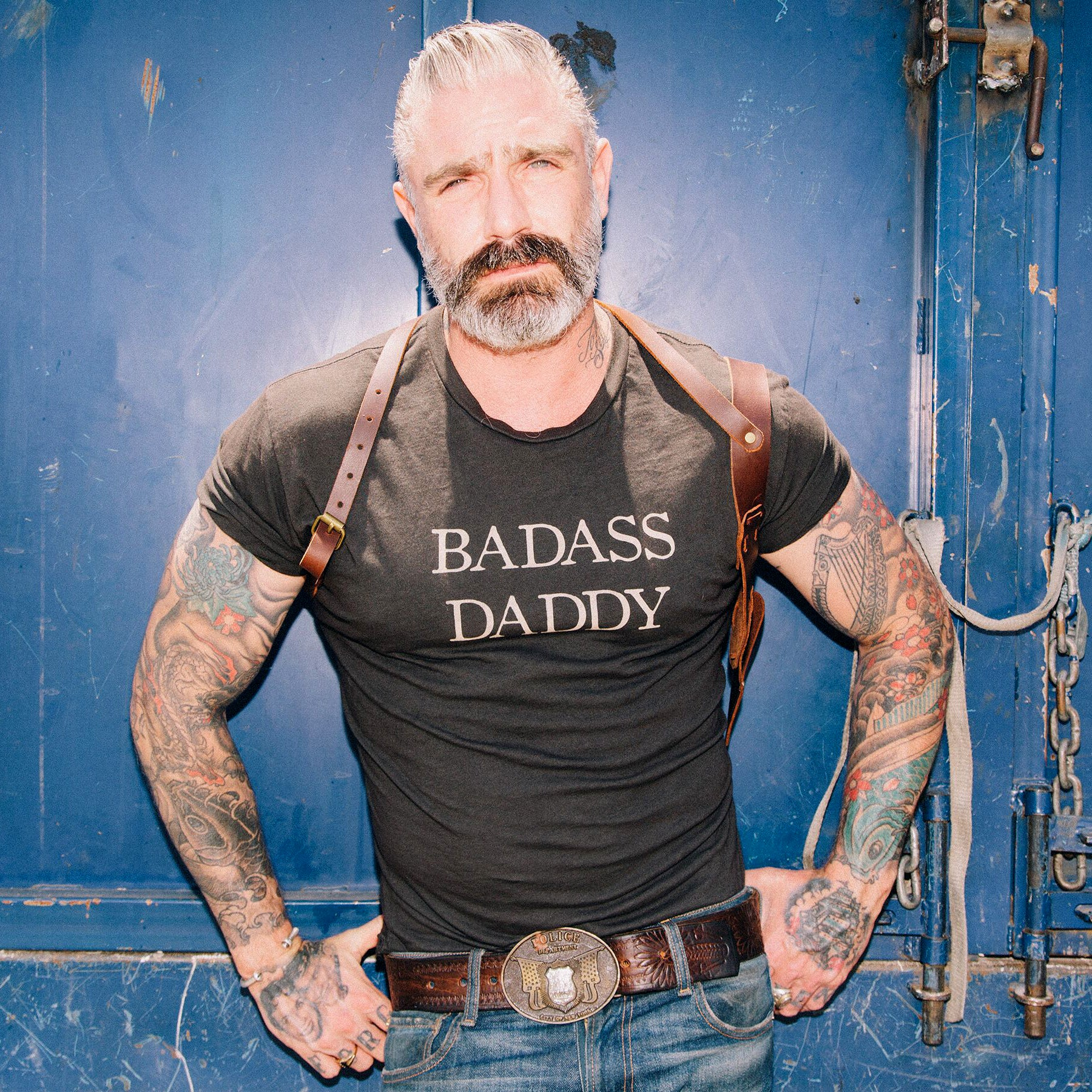Badass Daddy Statement Tee