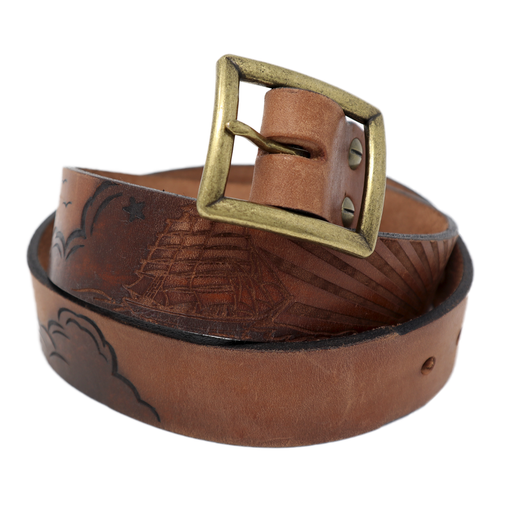 Schooner Leather Belt