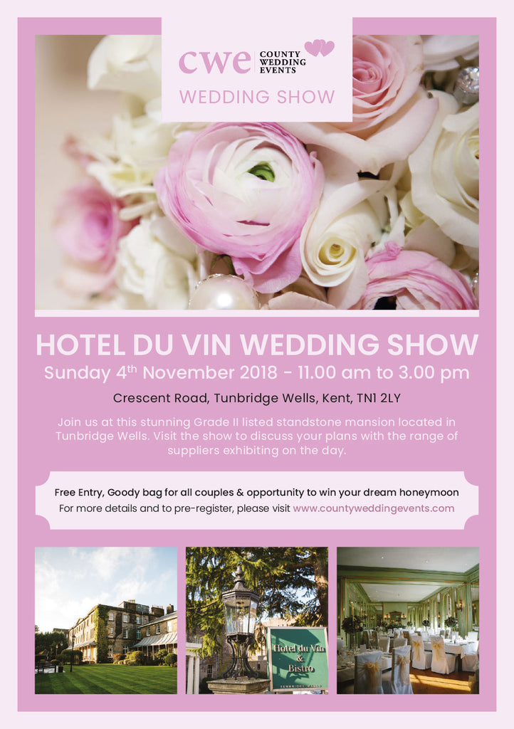 Hotel du Vin Wedding Show - Sunday, 4th November 2018