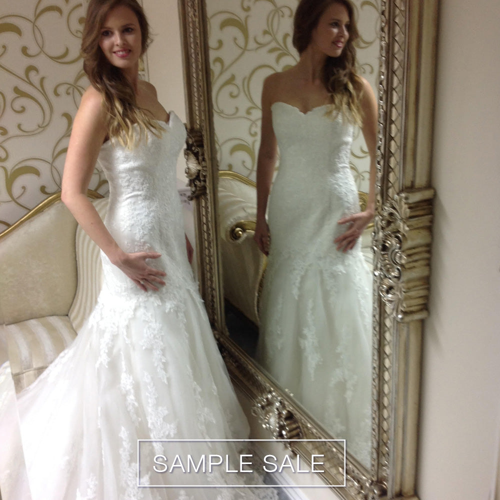 Sample sale of wedding dresses