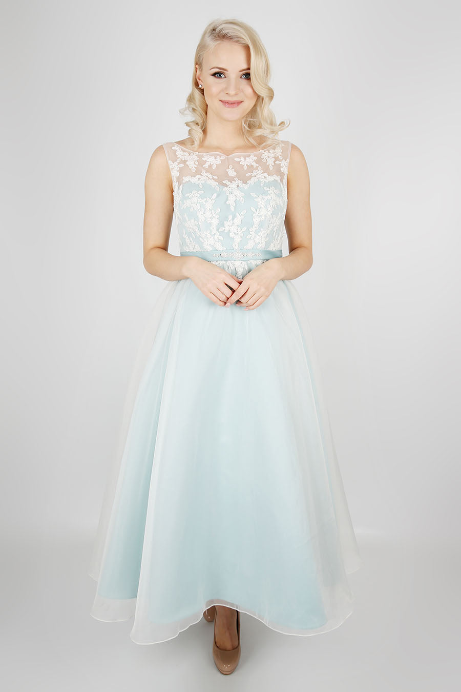Pretty, feminine bridesmaid dress from the Emma Bridals collection
