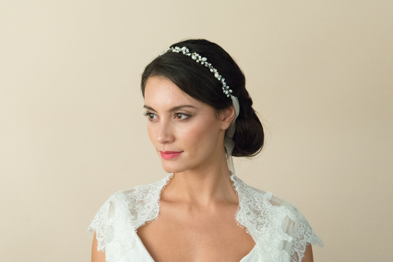Ivory & Co - Sylvie bridal hair vine