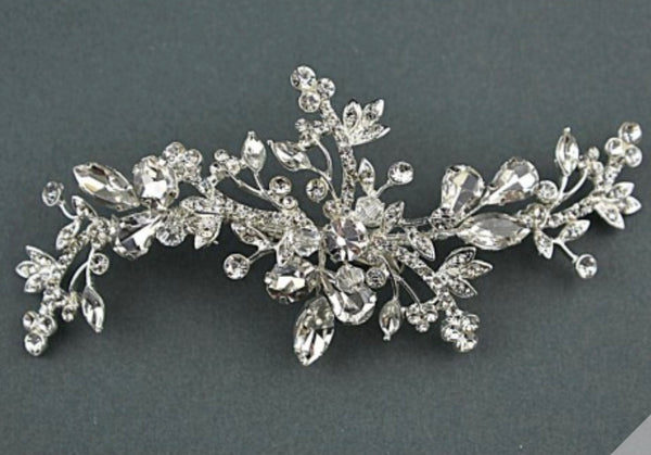 Crystals and diamanté detailed hair clip
