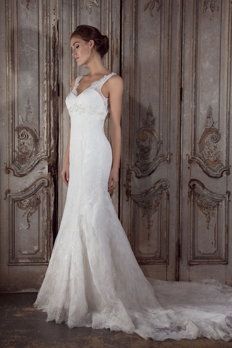 Alison Wedding Gown by Donna Lee Brides
