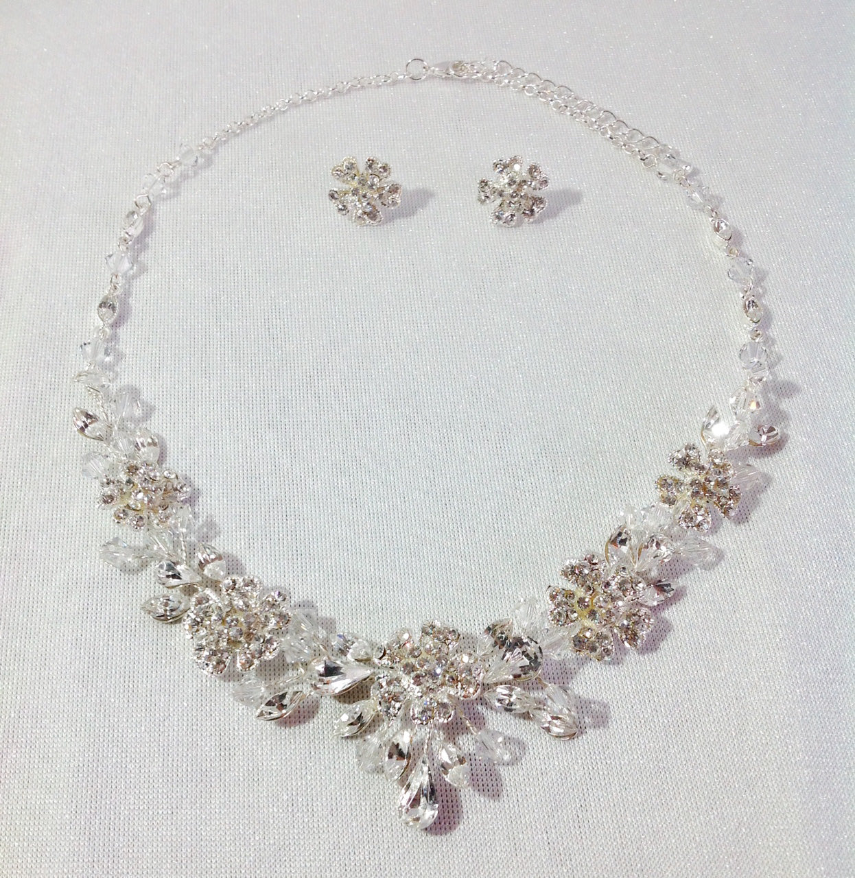 Chloe -  necklace and earring set