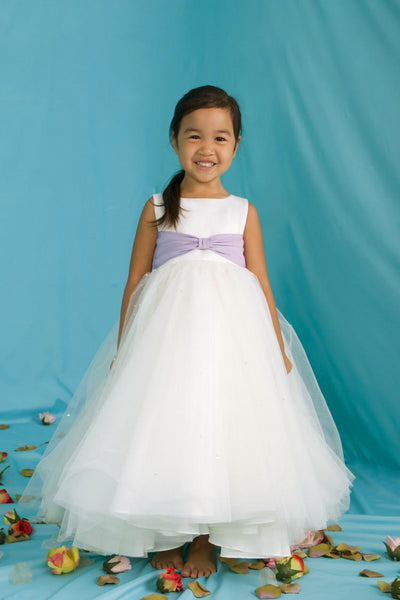 Flower girl dress from the Emma Bridals collection