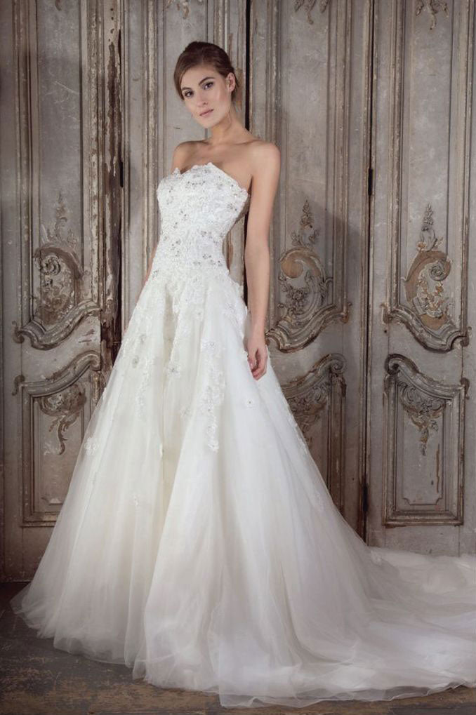 Queenie Wedding Dress from the Donna Lee Brides collection