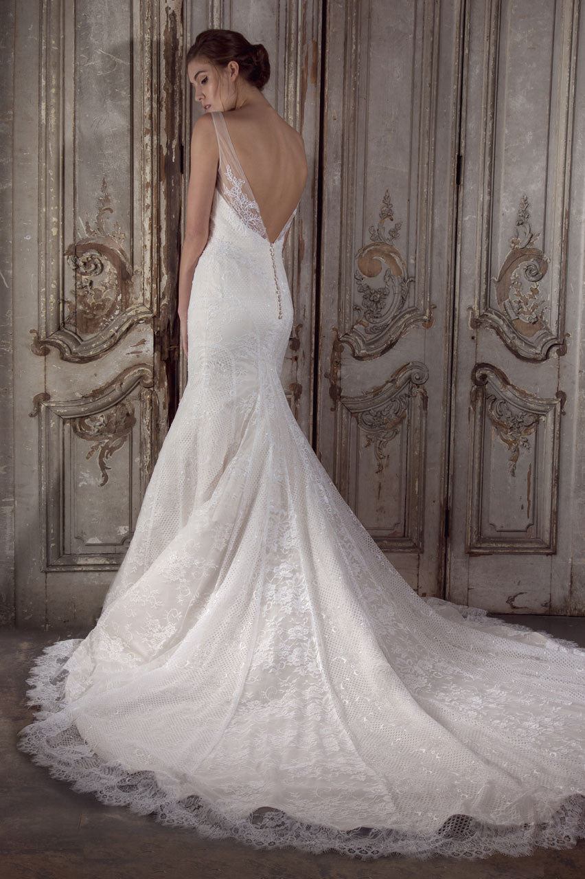 Sabrina wedding gown by Donna Lee Brides