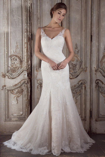 Sabrina wedding dress by Donna Lee Brides
