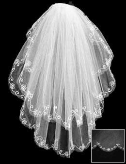 Windsor 2-tier Wedding Veil