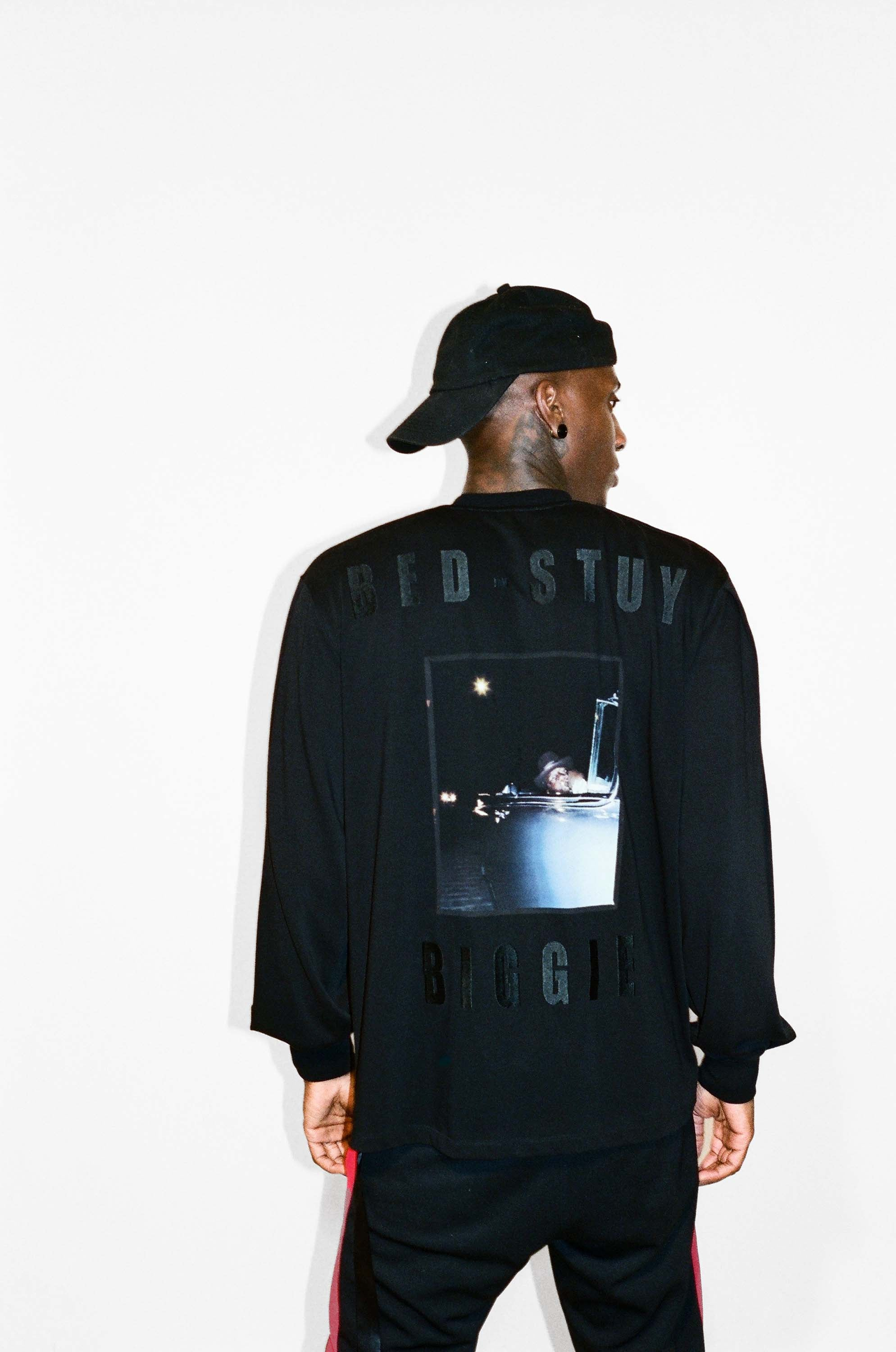 """Bed-Stuy Biggie"" Long-Sleeve T-Shirt"
