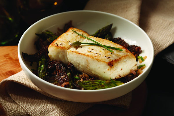 Wild Alaskan Halibut PORTIONED Filets (Bozeman)