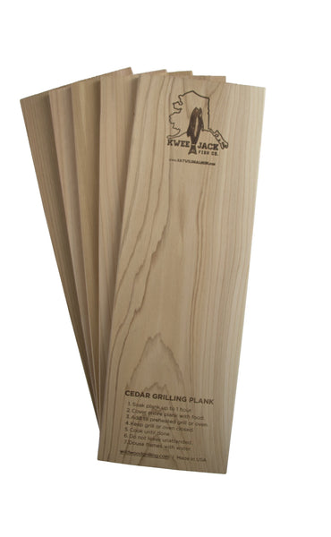 5-Pack of Western Red Cedar Grilling Planks (Billings)
