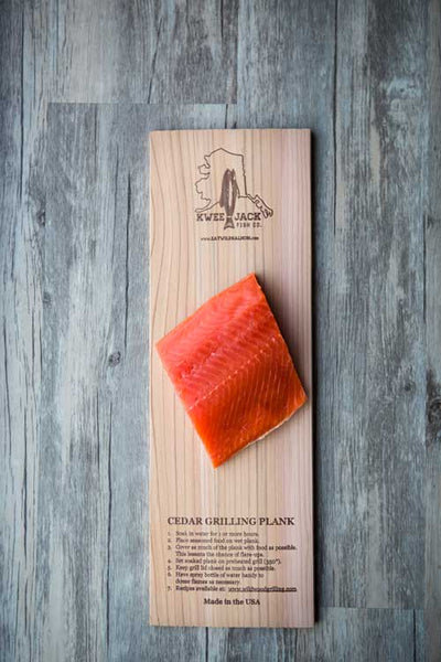 Wild Alaskan Sockeye Salmon PORTIONED Filets (Billings)
