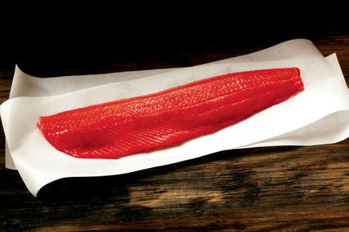 Wild Alaskan Sockeye Salmon - WHOLE Filets (Shipped)