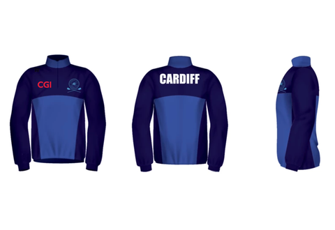 Cardiff City RC Splash Jacket