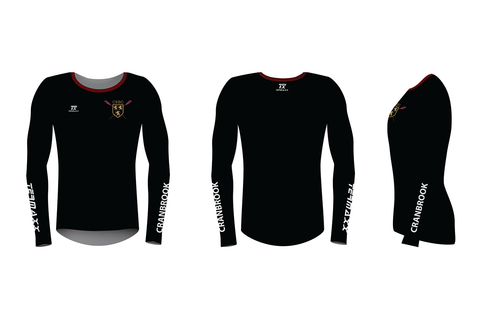 Cranbrook School Long Sleeve Black