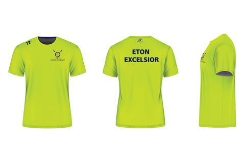 Eton Excelsior RC Training Performance Tee Mens (Hi-viz)