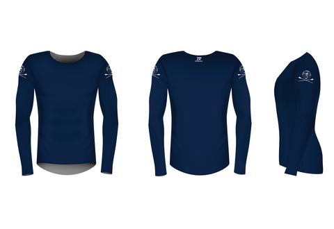 Henley RC Long Sleeve Navy