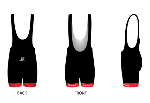 Jersey RC Cycling Bib-Shorts (Womens)