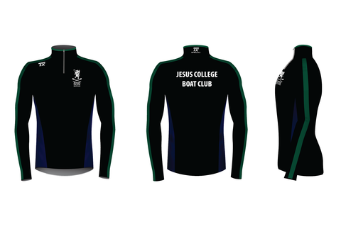 Jesus College BC Hybrid Fleece