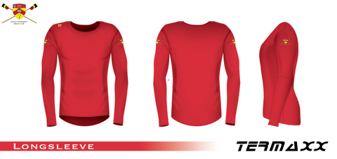 Keele University BC Long Sleeve Red