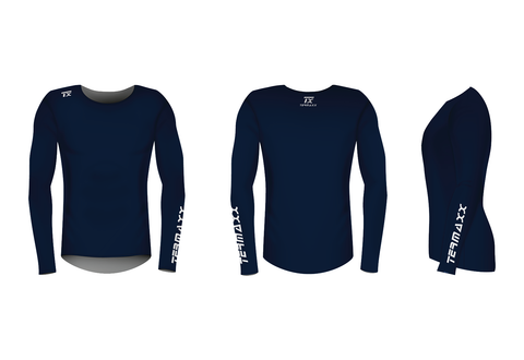 Tx-Training Long Sleeve (Navy) Lea