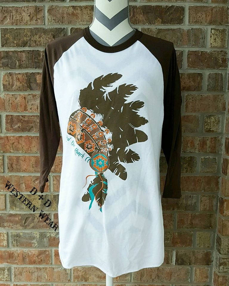 Headdress Baseball Tee