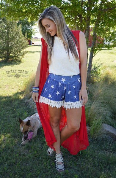 STAR SPANGLED SHORTS