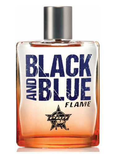 Men's PBR Black and Blue Flame Cologne 3.4 oz