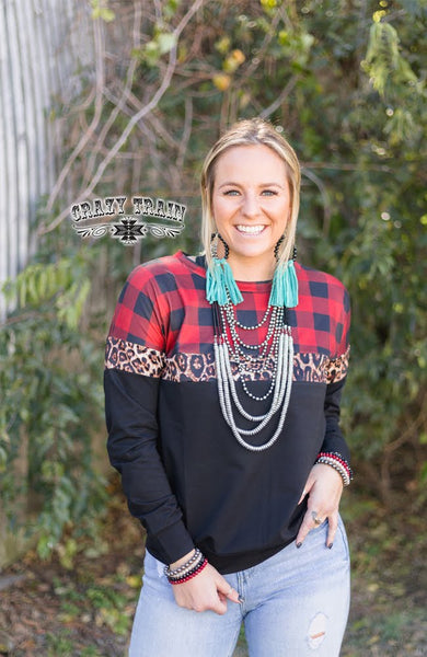 BRECKENRIDGE PULLOVER ** BUFFALO PLAID/BLACK
